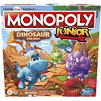 Hasbro Gaming Monopoly Junior: Dinosaur Edition Board Game for 2-4 Players, Fun Indoor Games for Kids Ages 5 and Up…