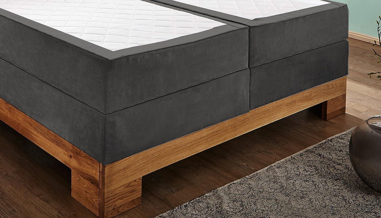 Sam Design Boxspringbett Sirin Box Mit Holzrahmen Und