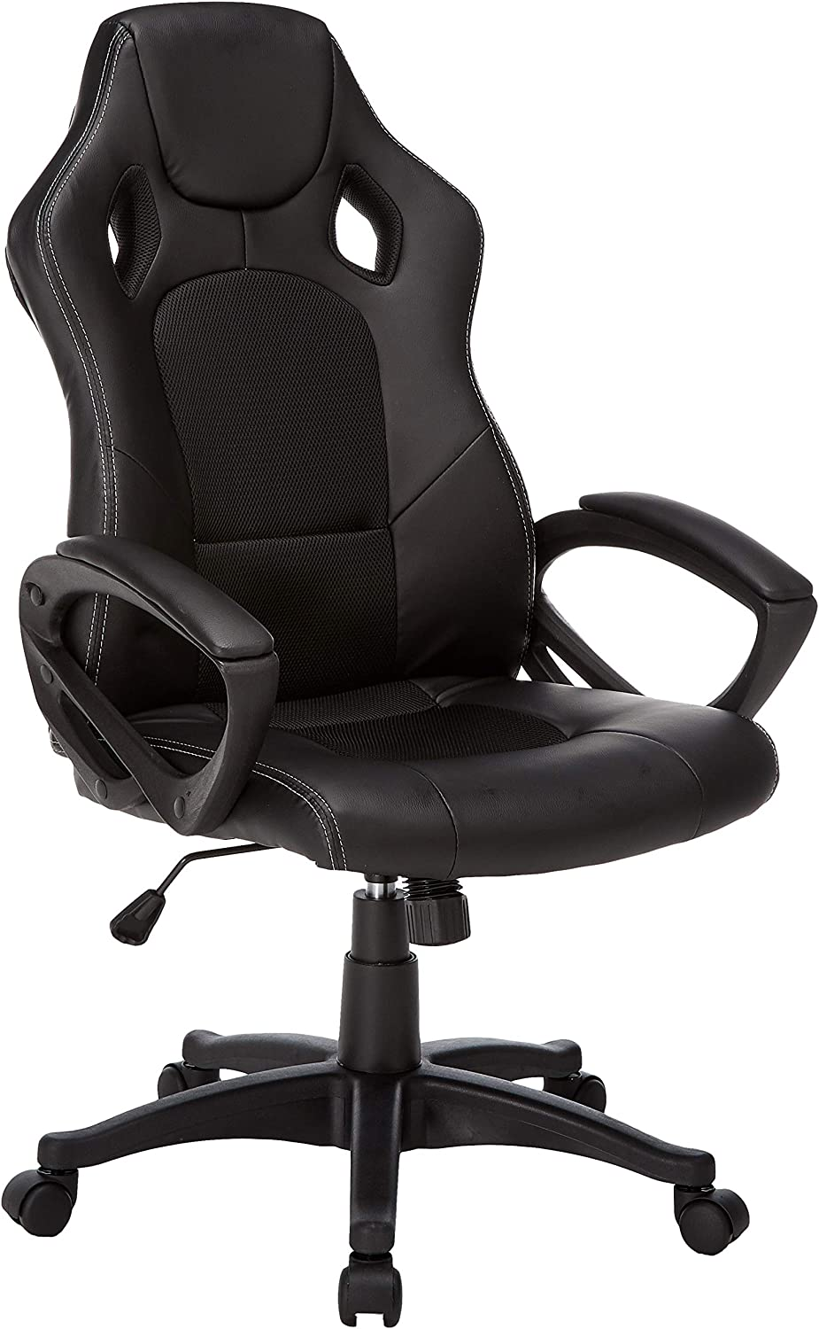 IDS Online Video Gaming Racing Home Computer Desk Ergonomic High Back Executive Office Chair by IDS, Black
