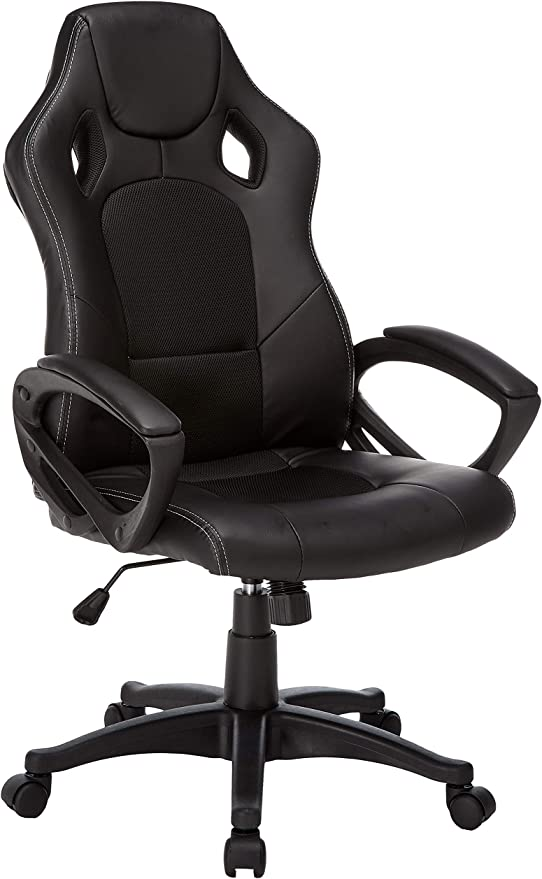 IDS Online Video Gaming Racing Home Computer Desk Ergonomic High Back Executive Office Chair - Best for Water-resistance