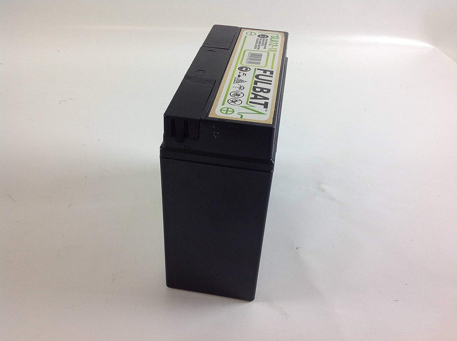 Batteria gel avviamento trattorino rasaerba sigillata 12V 18 Ah ...