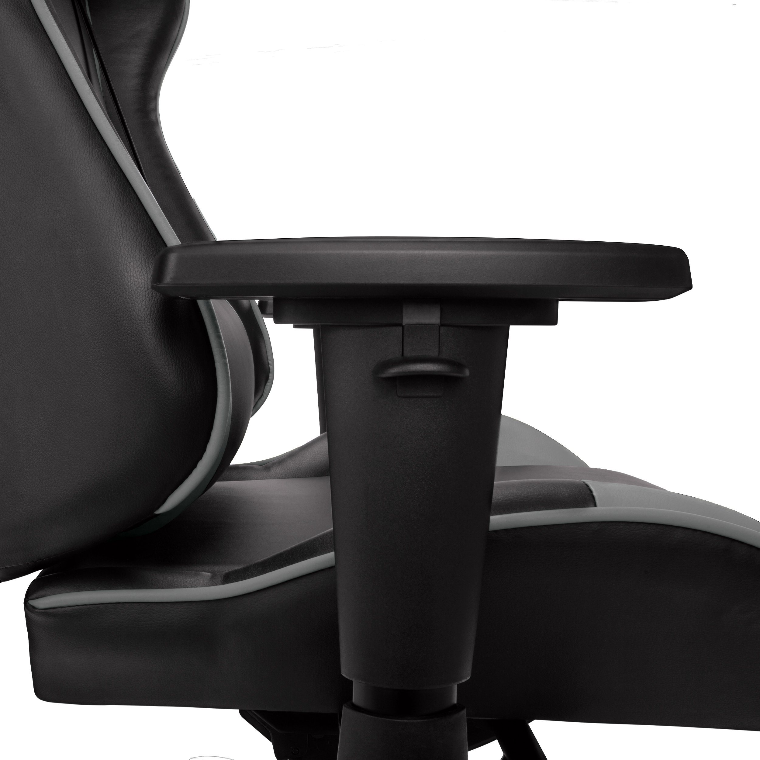 RESPAWN-105 Racing Style Gaming Chair - Reclining Ergonomic Leather Chair, Office or Gaming Chair (RSP-105-GRY) by RESPAWN (Image #5)