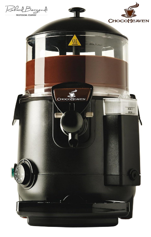 ChocoHeaven caliente de la máquina de chocolate, chocolate caliente dispensador de negocios, 5 litros eléctrico, Baine Marie mezclador: Amazon.es: Hogar
