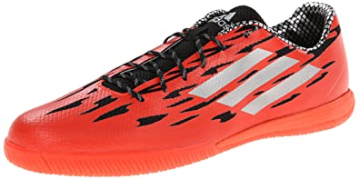adidas Performance Men\u0027s FF Speedtrick Soccer Cleat, Solar Red/Black/Black,  7