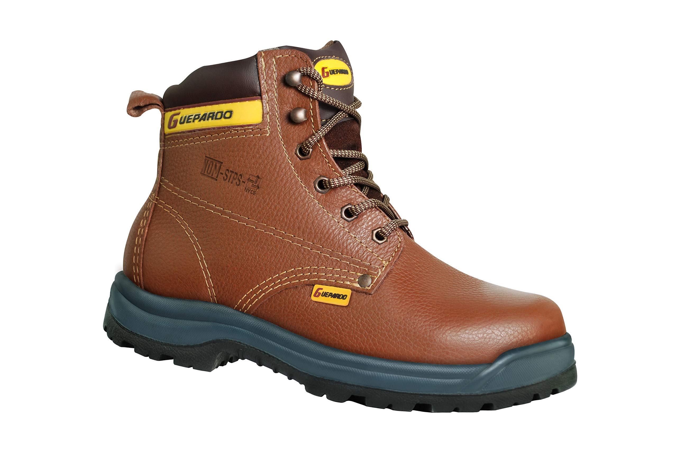Guepardo Safety Footwear Model G75FLEXM25 (Work Boots) (12.5) Cinnamon
