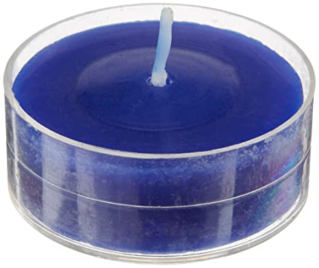 Amazon.com: Zest vela Juego de velas, color azul: Home & Kitchen