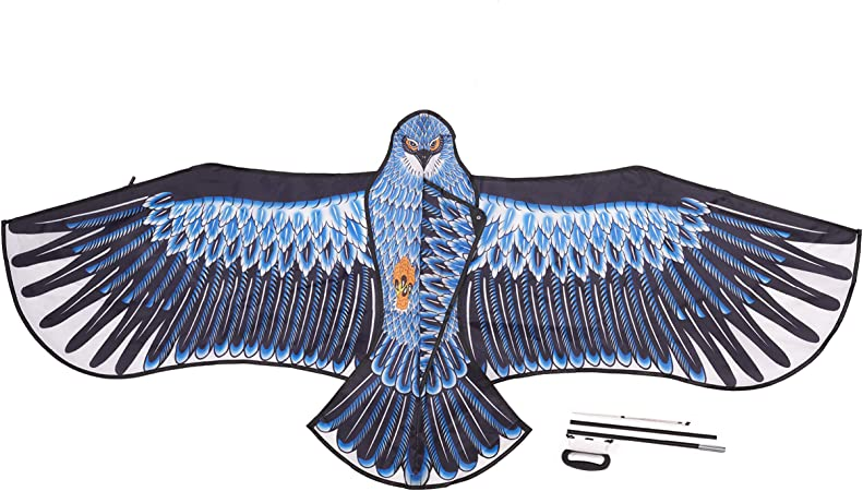 THE TWIDDLERS Cometa Águila Grande, 185x82cm - Robusto y Fácil de Montar