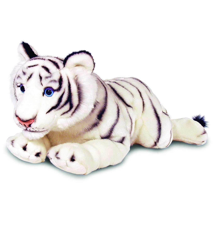 estilo clásico Keel Keel Keel Toys 65078 - Tigre blanco de peluche tumbado, 100 cm  online al mejor precio