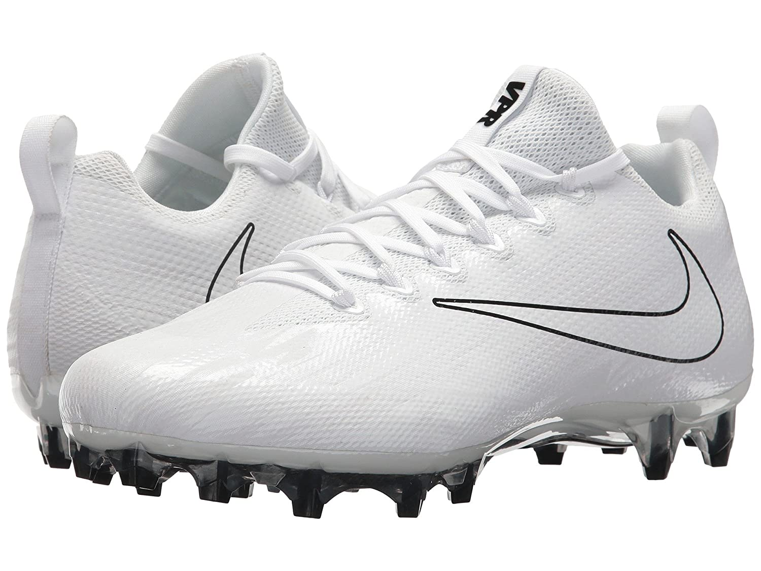 (ナイキ) NIKE メンズフットボールアメフトシューズ靴 Vapor Untouchable Pro Lax White/White/Black 9 (27cm) D - Medium B078Q23XTD
