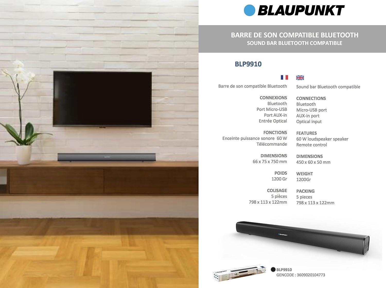 Blaupunkt Blp9910-001.133 Barra De Sonido Bluetooth