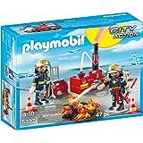 Playmobil - 5397 - Pompiers + Matériel D'Incendie