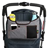 Amazon Price History for:Best Universal Baby Jogger Stroller Organizer Bag / Diaper Bag with Superior Quality, Multifunction & Multi Colours. Extra Storage Space for Organize the Baby Accessories and Your Phones. (GREY)