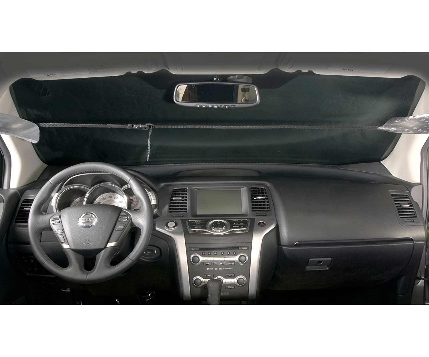 Intro-Tech TT-95-S Silver All Custom Fit Windshield Snow Shade for Select Toyota Prius C Models