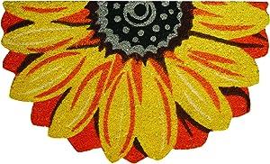 Robert Allen Home & Garden Sunflower Coir Doormat