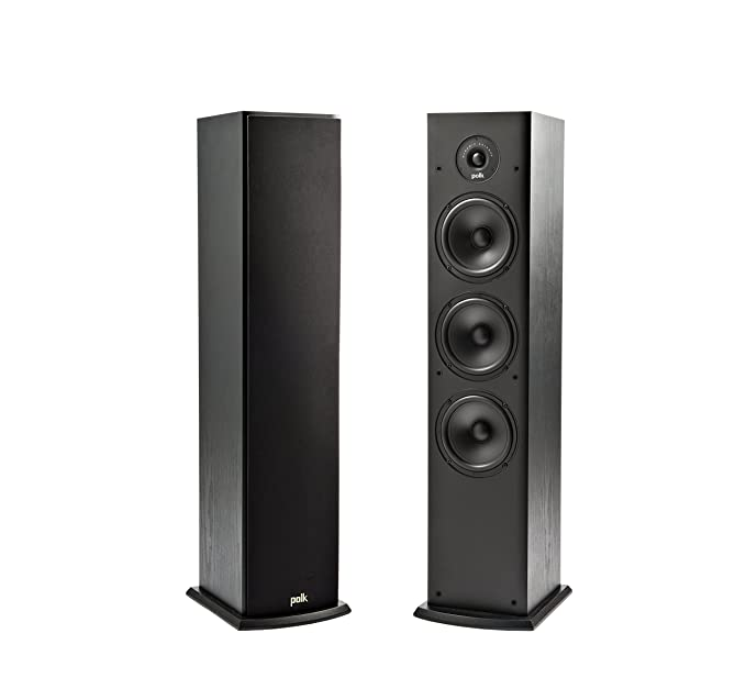 Amazon.com: Polk Audio T50 Home Theater and Music Floor Standing ...