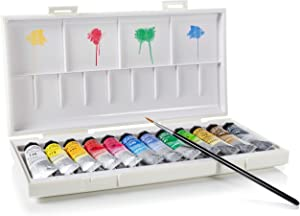 Sennelier - La Petite Aquarelle Student Watercolor Paint Set (12 10ML Paint Tubes) | Lightweight Travel Kit for Field Painting | Made in Paris