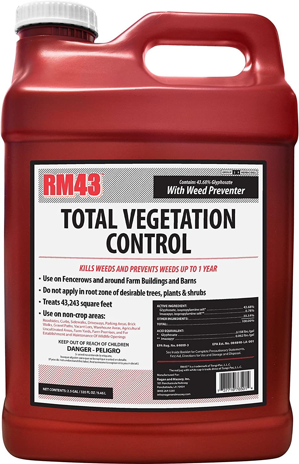 RM43 Weed Preventer