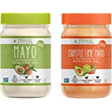 Primal Kitchen Mayo Combo Pack - Original and Chipotle Lime Mayo with Avocado Oil (12 Oz. each)