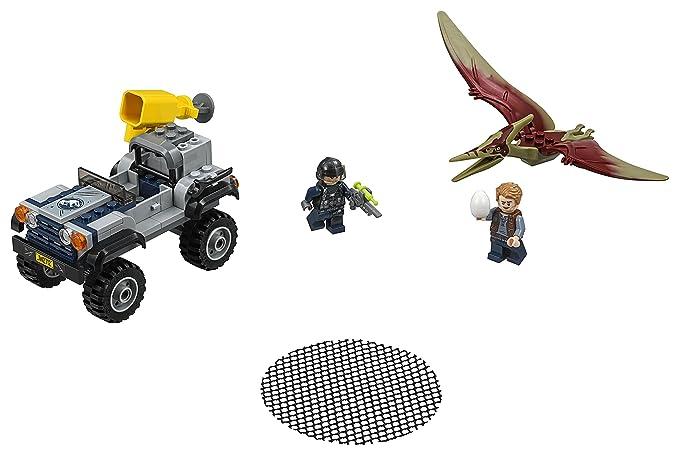 LEGO Jurassic World - Caza del Pteranodon, Juego de construcción ...