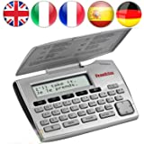 Franklin 5-Language Electronic Translator English German French Spanish Italian 5-Language European Translator