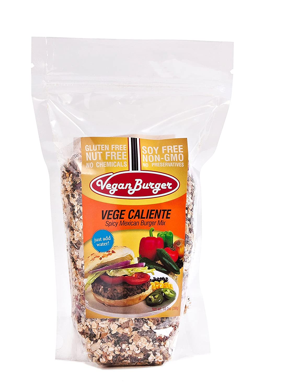 Vegan Burger (9 Patties) - Vege Caliente