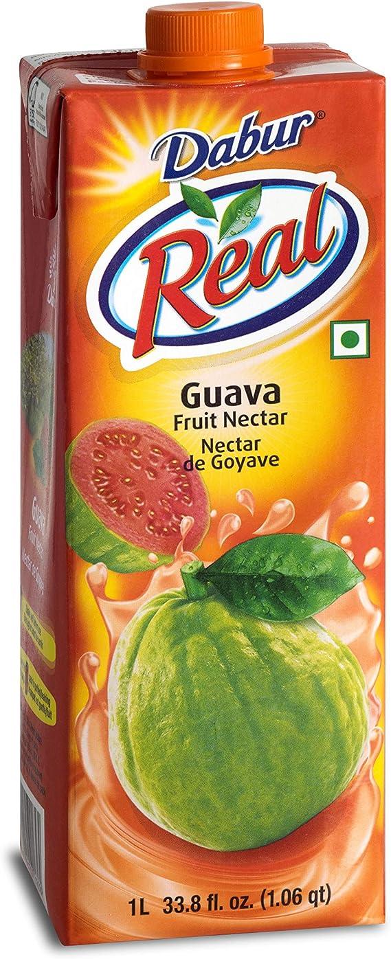 グアバ ネクタージュース 1L Dabur Real Guava Juice SARTAJ サルタージ