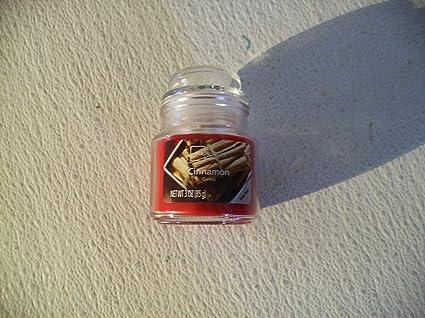 Amazon com: Walmart mainstays Cinnamon 3oz Jar Candle: Home