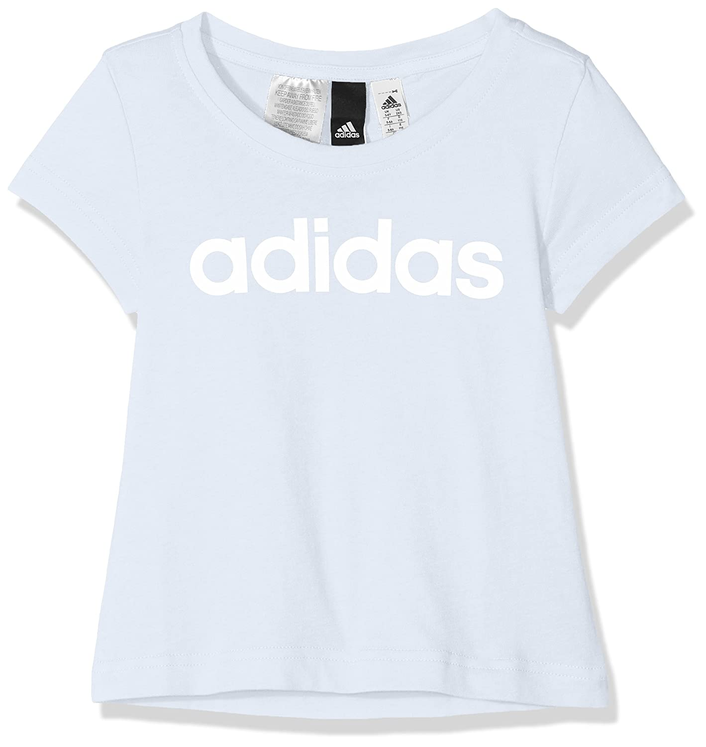 adidas Girls' Linear T-Shirt ADIEY|#adidas