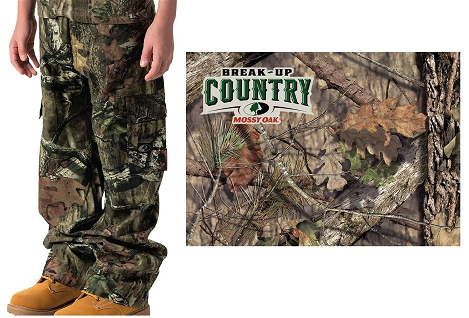 Walls Boys Youth Grown With Me Camo Six Pocket Hunting Pants Walls Industries DIC-55218