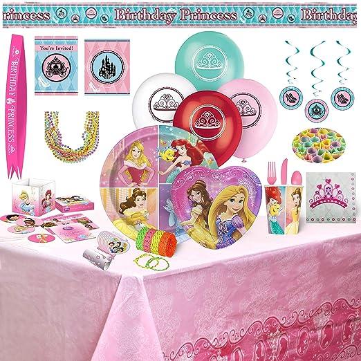 Disney Princess Party Bundles for 8 Guests