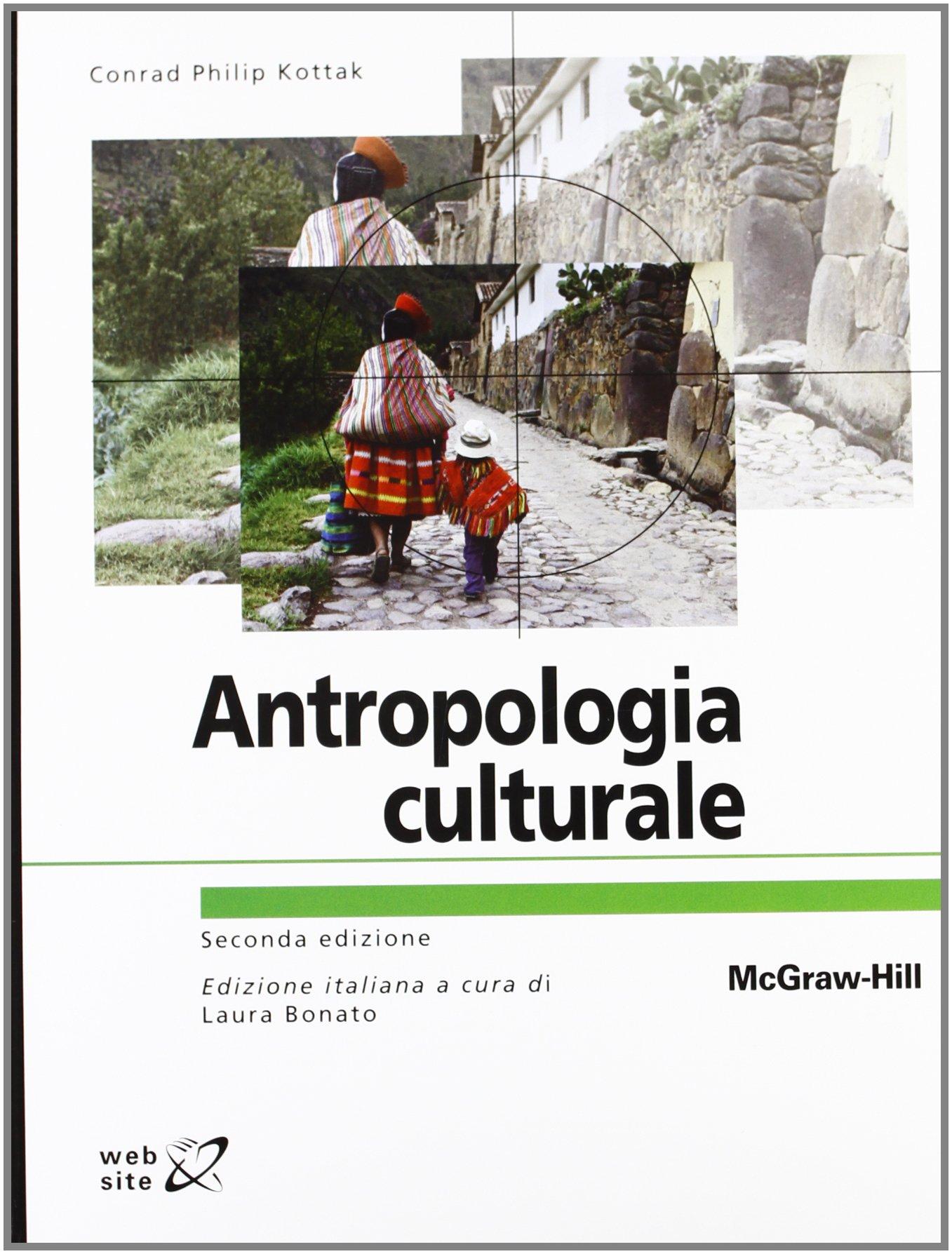 Antropologia culturale Copertina flessibile – 1 giu 2012 Conrad P. Kottak McGraw-Hill Education 883866739X SCIENZE SOCIALI