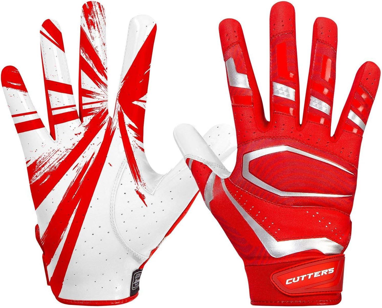 McDavid Rev Pro 3.0 Receiver Gloves レッド/ホワイト Large