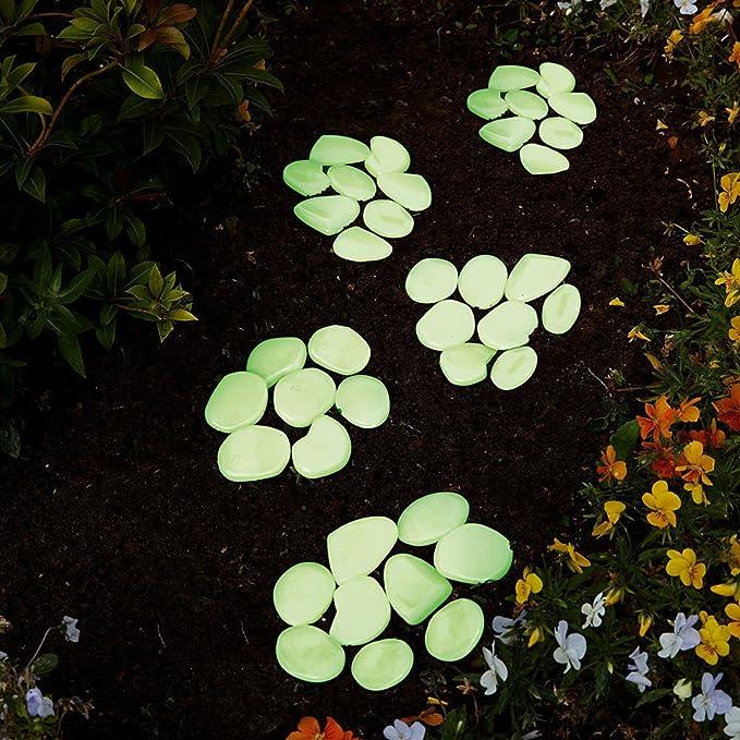 1-25 kg décoratif rond Marbre Blanc Pierres Jardin Aquarium Pot Pond Gravier, sable, galets déco