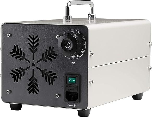 Generador de Ozono 20.000 MG/h Ozonizador y Purificador de Aire para Desinfectar Espacios Eliminando Virus, Hongos, Bacterias, Alérgenos y Malos Olores: Amazon.es: Hogar
