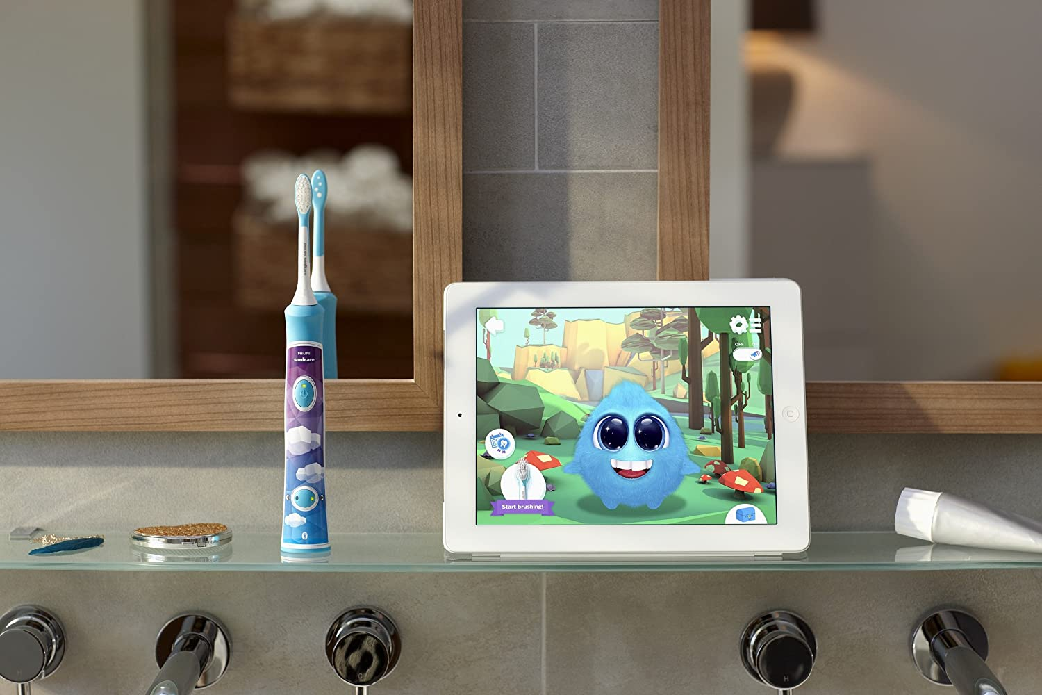 Image result for PHILIPS TOOTHBRUSH KIDS HX6321