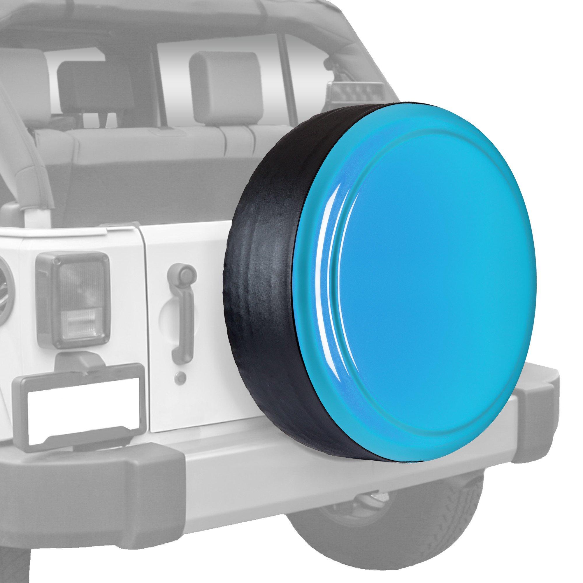 Jeep Wrangler (JK) - 35'' Color Matched Rigid Tire Cover (Plastic Face & Vinyl Band) - Chief