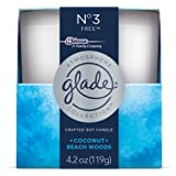 Glade Crafted Soy Candle, Air Freshener, Atmosphere Collection, No 3 Free, 4.2 oz