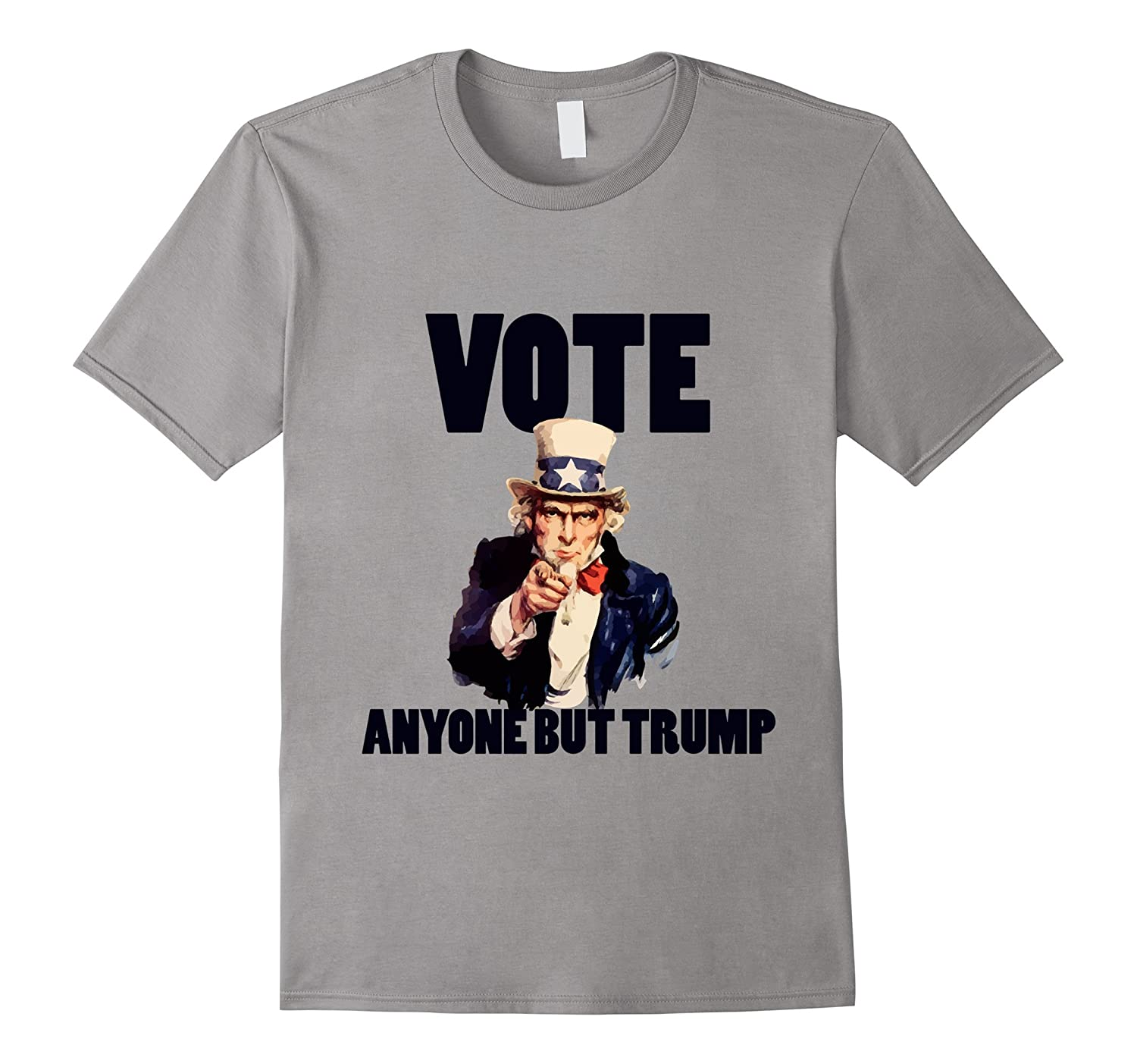 VOTE anyone but TRUMP shirt anti-trump t shirt dump trump-BN