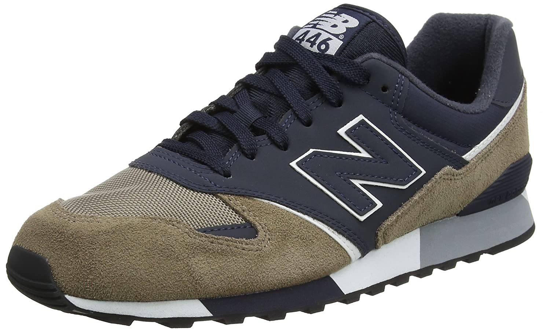 New Balance Unisex-Erwachsene U446 Sneaker,  41.5 EU|Mehrfarbig (Cerise/U446cnw)