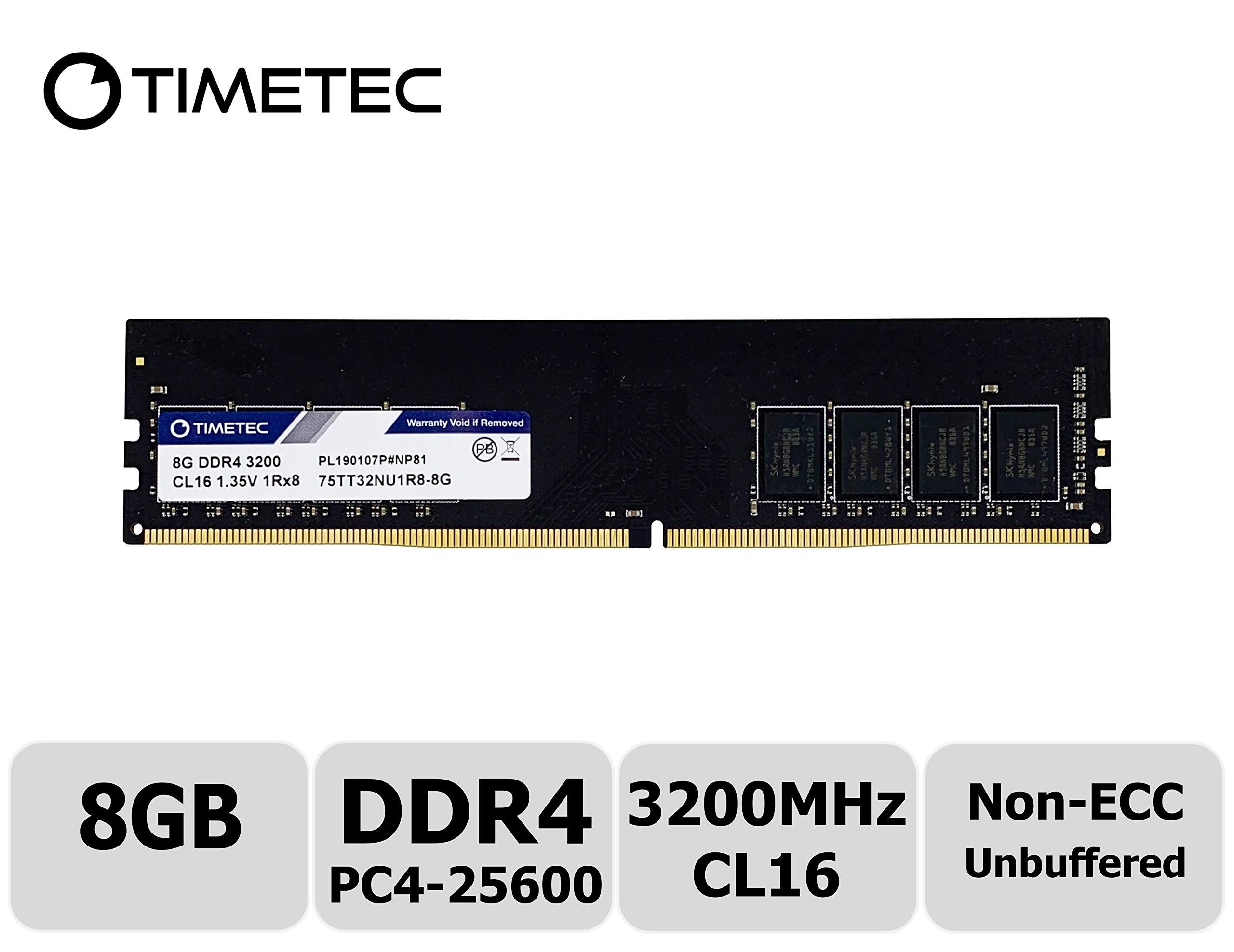 Memoria Ram 8GB DDR4 3200MHZ PC4-25600 TIMETEC