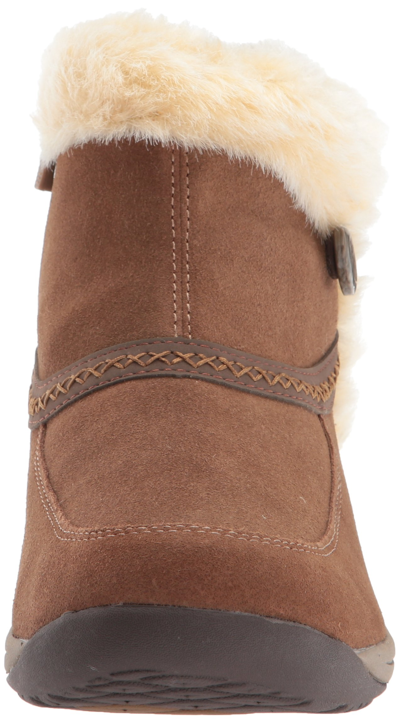 Easy Spirit Women's Icerink Ankle Bootie, Dark Natural Multi Suede, 6 W US by Easy Spirit (Image #4)