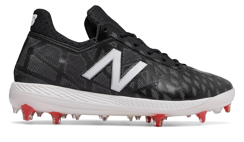 (ニューバランス) New Balance 靴シューズ メンズ野球 NB COMP Black with White and Red ブラック ホワイト レッド US 8.5 (26.5cm) B078V52Z4L