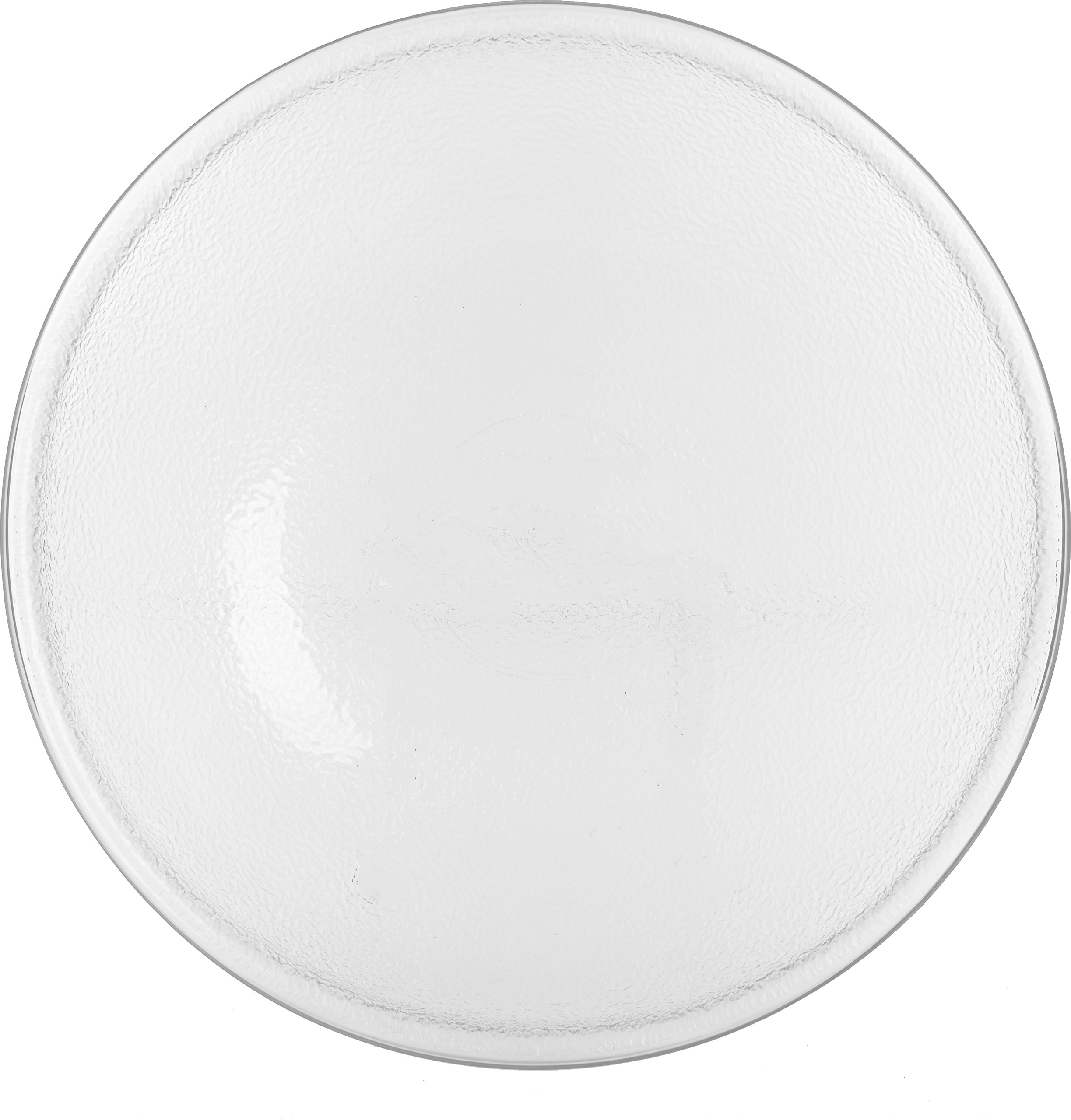 Carlisle SP2207 Acrylic Pebbled Punch Bowl, 24-qt. Capacity, 22'' Diameter x 11.12'' Height, Clear by Carlisle (Image #3)
