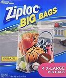 Ziploc Big Bag XL (4 Bags)