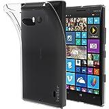 Nokia Lumia 930 Coque, iVoler [Liquid Crystal] Case Coque Housse Etui Ultra Hybrid TPU Silicone,[Extrêmement Mince Souple et Flexible] [Peau Transparente] [Shock-Absorption Bumper et Anti-Scratch Effacer Back] pour Nokia Lumia 930 (Bumper - HD Clair) -Garantie de Remplacement de 18 Mois