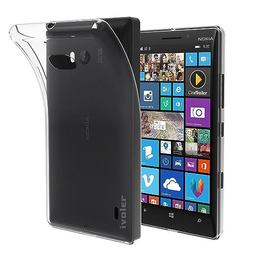 10 opinioni per Nokia Lumia 930 Custodia, iVoler® Soft TPU Silicone Case Cover Bumper