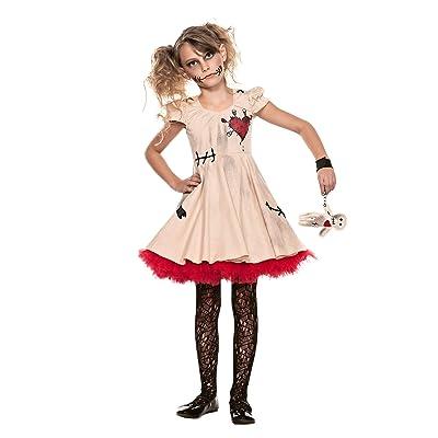 Seeing Red Tween Voodoo Doll Costume for Kids: Clothing