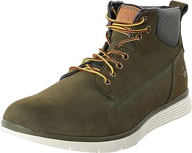 Sneakers, Green Dark Green Nubuck | Chukka