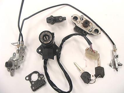 Kawasaki ZX 14 Interruptor de encendido y asiento de ...