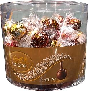 Caja con 96 Bombones Lindor Chocolate Surtido. Lindt.